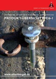 Attenberger Katalog - Vermessung und Vermarkung