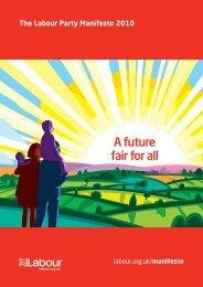 Labour's manifesto - Conservative Home