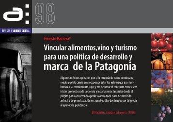 marca de la Patagonia - Revista Ambiente