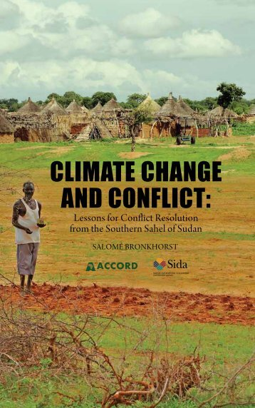CLIMATE CHANGE AND CONFLICT: - Accord