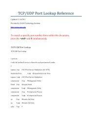 port list / port lista - Webnode