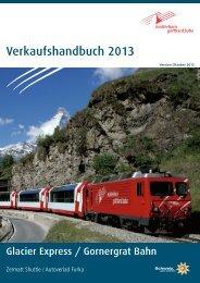 Saison 2013 - Matterhorn Gotthard Bahn