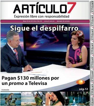 Sigue el despilfarro - a7.com.mx