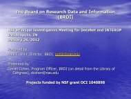 Board on Research Data and Information
