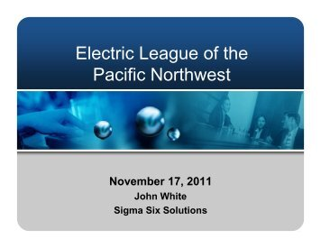 Electric League of the Pacific Northwest