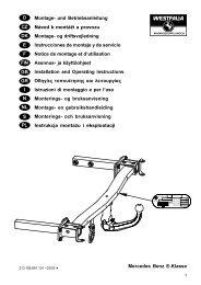 Mercedes Benz E-Klasse D Montage- und ... - Autoteilefrau.eu