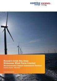 Rhiannon Wind Farm Ltd Offshore Scoping Report Centrica