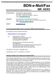 Bdn-e-Mail/Fax - Berufsverband Deutscher Nuklearmediziner