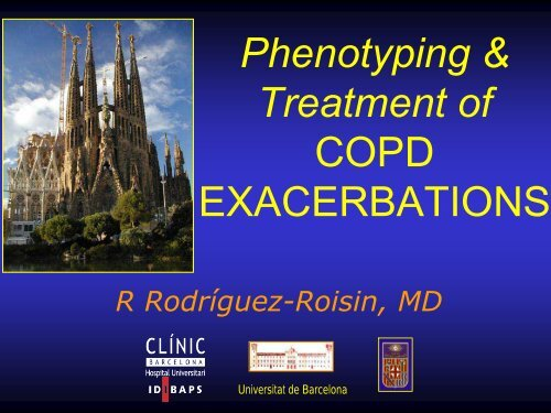 Phenotyping & Treatment of COPD EXACERBATIONS