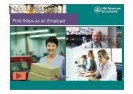 First Steps as an Employer
