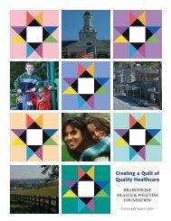 2004 Community Report - Brandywine Health Foundation