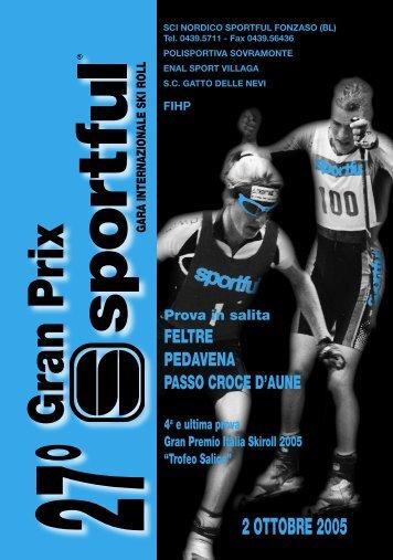 Il programma della gara - Skiroll.it