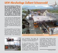 LKW-Abrufanlage Zollamt Schaanwald - Signal AG