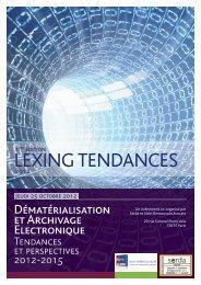 LEXING TENDANCES - Cabinet Alain Bensoussan