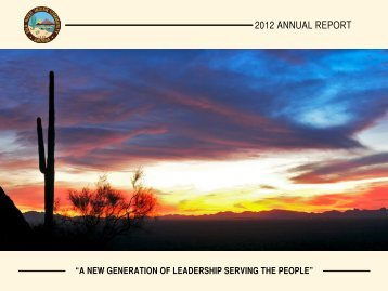 View annual report by clicking here - Gila River Indian Community