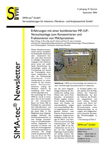 Newsletter 3 - SIMA-tec GmbH