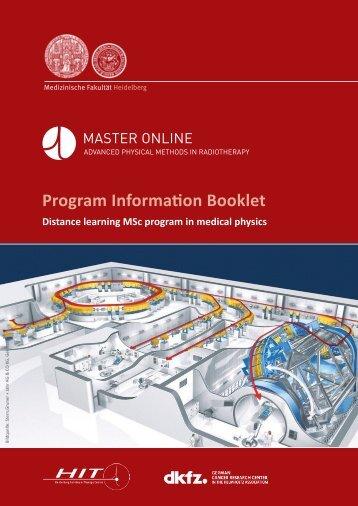 Program Information Booklet