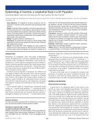 Epidemiology of Insomnia: a Longitudinal Study in a UK ... - Sleep