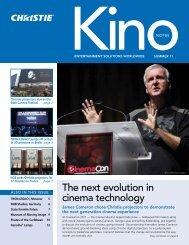 the next evolution in cinema technology - Christie Digital Systems