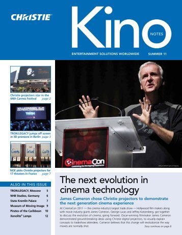 the next evolution in cinema technology - Christie Digital Systems