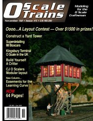 Oooo...A Layout Contest — Over $1500 in prizes! 64 ... - O scale trains