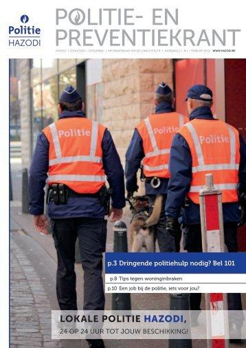 POLITIE- EN PREVENTIEKRANT - Lokale Politie