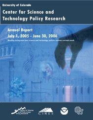 Annual Report_2006.pub - Center for Science and Technology ...