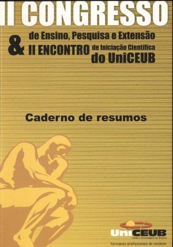 II Congresso (2004) - UniCEUB