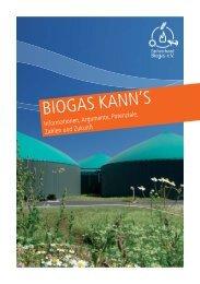 Biogas kanns - WELTEC BIOPOWER GmbH