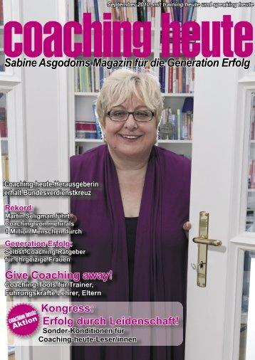 Sabine Asgodom - Coaching heute