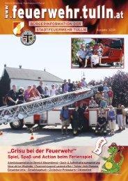 Grisu bei der Feuerwehr - Stadtfeuerwehr Tulln