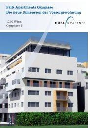 Park Apartments Ogugasse Die neue Dimension der ...