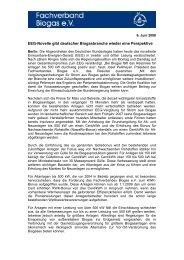 Eeg-Novelle gibt deutscher Biogasbranche wieder ... - Bioconstruct