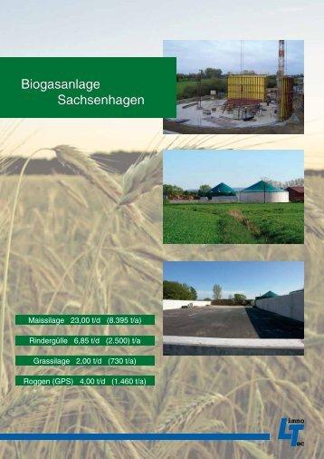 Biogasanlage Sachsenhagen - LimnoTec