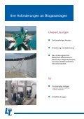 Biogastechnik Biogasanlagen mit LimnoTec - Seite 2