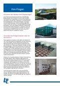 Biogastechnik Biogasanlagen mit LimnoTec - Seite 6