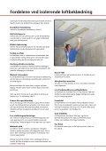 facadeisoleringsystem isolerende loftbeklædning - Skalflex - Page 5