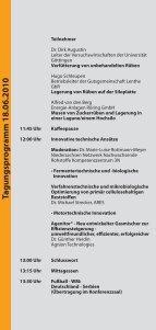 Tagungspro gramm 18.06.2010 - Biogas-Innovationskongress - Seite 6