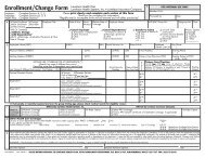 Enrollment/Change Form - Lovelace Health Plan
