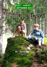 JULY – AUGUST - - fichtelnews.eu