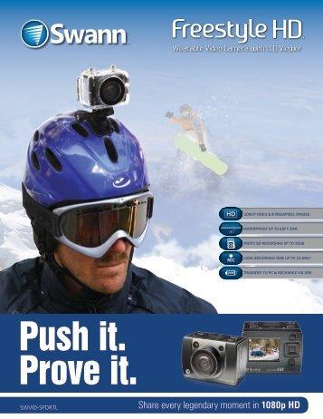 Freestyle HD SportsCam Brochure