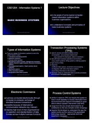 Electronic Commerce Process Control Systems - Information ...