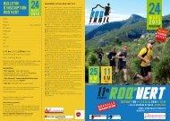 Télécharger le bulletin d'inscription du Roq'Vert 2013 - Roquevaire