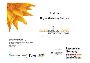 SoMaRu - Sojus Marketing Russland - SOJUS Bioenergie Netzwerk ...