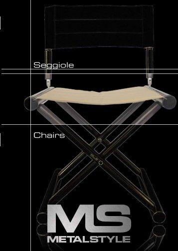 Seggiole Chairs - Calibra Marine International