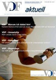 VDF aktuell Nr.19, 07.06.07