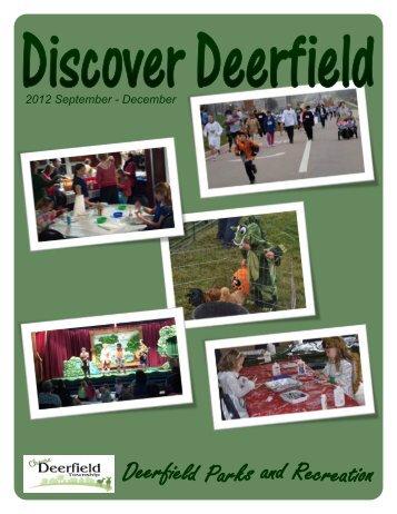 2012 September - December - Deerfield Township, Ohio