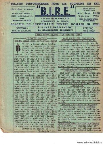 BIRE NR. 209 - arhivaexilului.ro