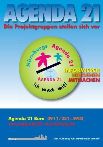 Agenda 21 Büro 0911/231-5902 www.agenda21 ... - Stadt Nürnberg