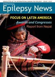 Awards and Congresses - International Bureau for Epilepsy